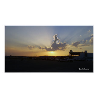 horse in clouds, Carolcells.com Poster