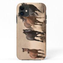 Horse In Fall II iPhone 11 Case