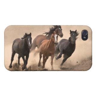 Horse In Fall II iPhone 4 Cover