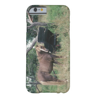 Horse in field with buggy barely there iPhone 6 case