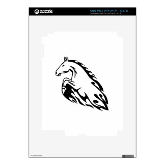 Horse in Flames iPad 3 Skin