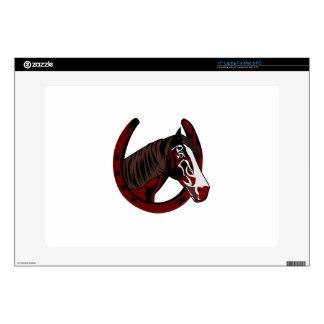 "Horse In Horseshoe 15"" Laptop Skins"