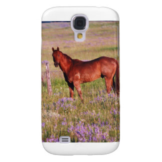 Horse in Pasture Galaxy S4 Cases