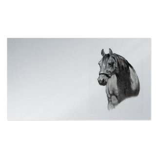 Horse in Pencil: Business Card, Equine Business Card