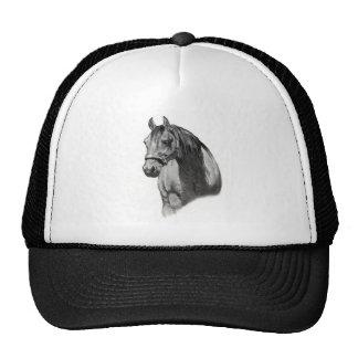 HORSE IN PENCIL TRUCKER HAT