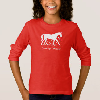 Horse in Silhouette: Country Darlin' T-Shirt