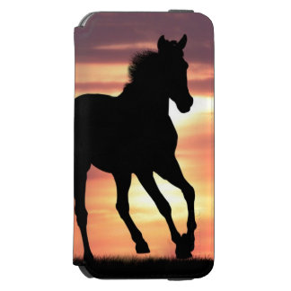 Horse In Sunrise iPhone 6/6s Wallet Case