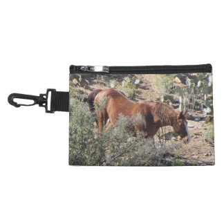 Horse in the Desert Accessory Bags