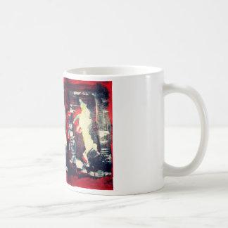 HORSE IN THE RED BARN CLASSIC WHITE COFFEE MUG