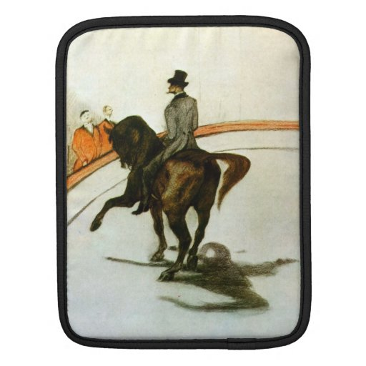 Horse in the Ring by Toulouse-Lautrec iPad Sleeves