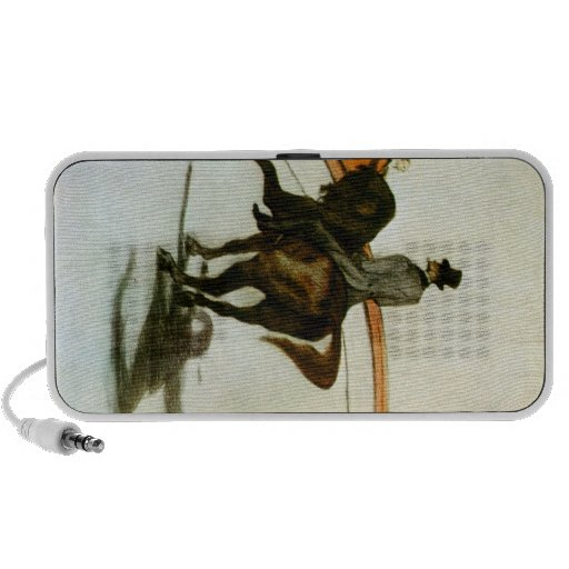 Horse in the Ring by Toulouse-Lautrec Mp3 Speakers