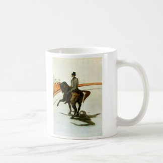 Horse in the Ring by Toulouse-Lautrec Mugs