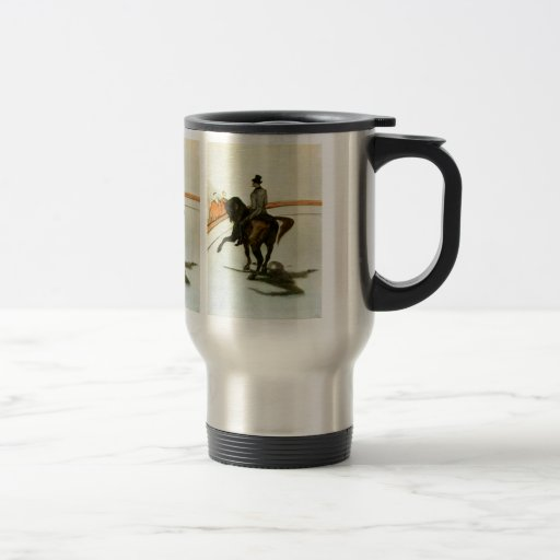 Horse in the Ring by Toulouse-Lautrec 15 Oz Stainless Steel Travel Mug