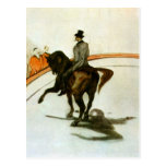 Horse in the Ring by Toulouse-Lautrec Postcard