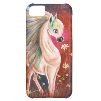 Horse In The Wind iPhone 5C Cases