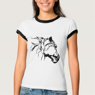 Horse in the Wind T-Shirt