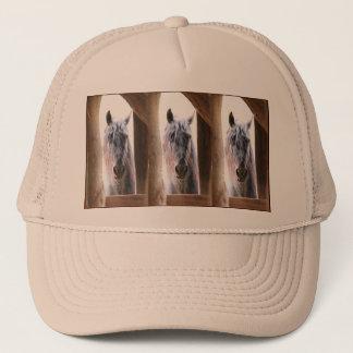 Horse In The Window Trucker Hat