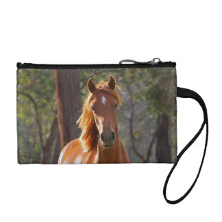 Horse In The Woods Coin Purses