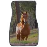 Horse In The Woods Car Mat