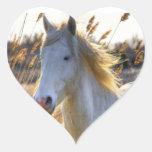 Horse In Wheat Sticker