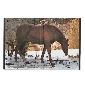 Horse in Winter Powis iPad Air 2 Case