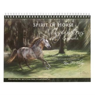 Horse Inspiration Calendar, ©Kim McElroy 20... Wall Calendar