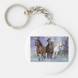 Horse items keychain