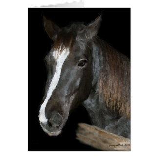 Horse IV Greeting Card