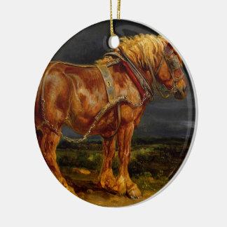 Horse - James Ward Ceramic Ornament
