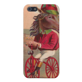 Horse Jockey Bicycle iphone4 Case