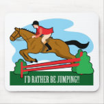Horse Jump Mouse Pad