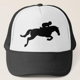 Horse Jump Trucker Hat