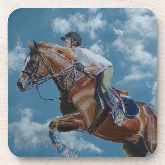 Horse Jumper Cork Coaster