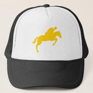 Horse Jumping - Amber Trucker Hat
