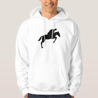 Horse Jumping - Black Hoodie