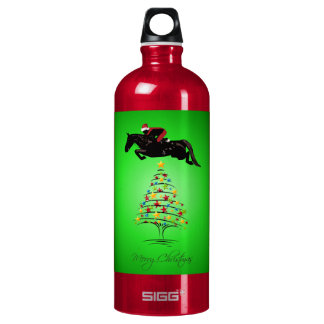 Horse Jumping Christmas SIGG Traveler 1.0L Water Bottle