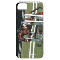 horse jumping, derby horse iPhone SE/5/5s case