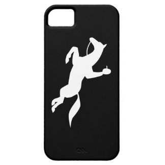 horse jumping icon iPhone 5 case