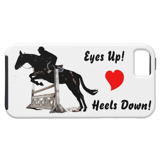 Horse Jumping iPhone 5 Case-Mate Case
