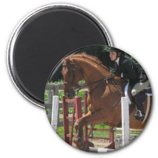 Horse Jumping Magnet