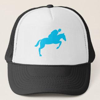 Horse Jumping - Sky Blue Trucker Hat