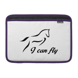 horse jumping sleeve for MacBook air