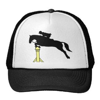 Horse Jumping Trucker Hat