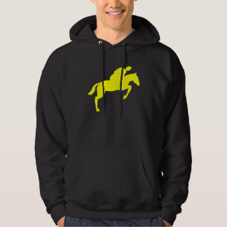 Horse Jumping - Yellow Hoodie