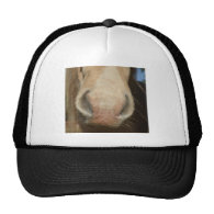 Horse Kiss Mesh Hats