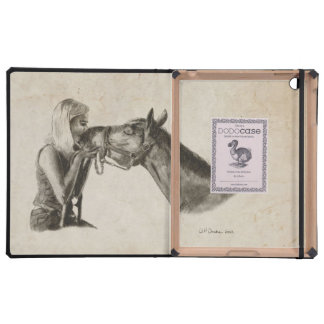 Horse Kisses Artwork Covers For iPad