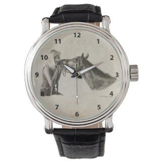 Horse Kisses Artwork Wristwatches