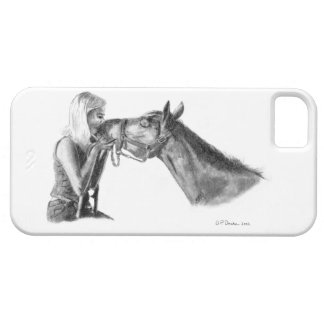 Horse Kisses iPhone 5 Cover