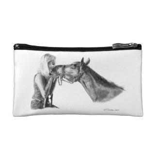 Horse Kisses Makeup Bag