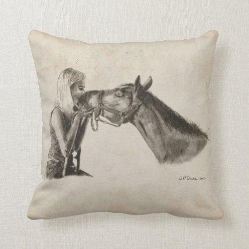 Horse Kisses Pillows